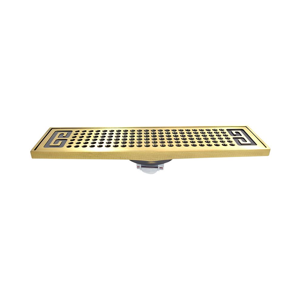 Phễu thoát sàn FD-4805 màu vàng dài