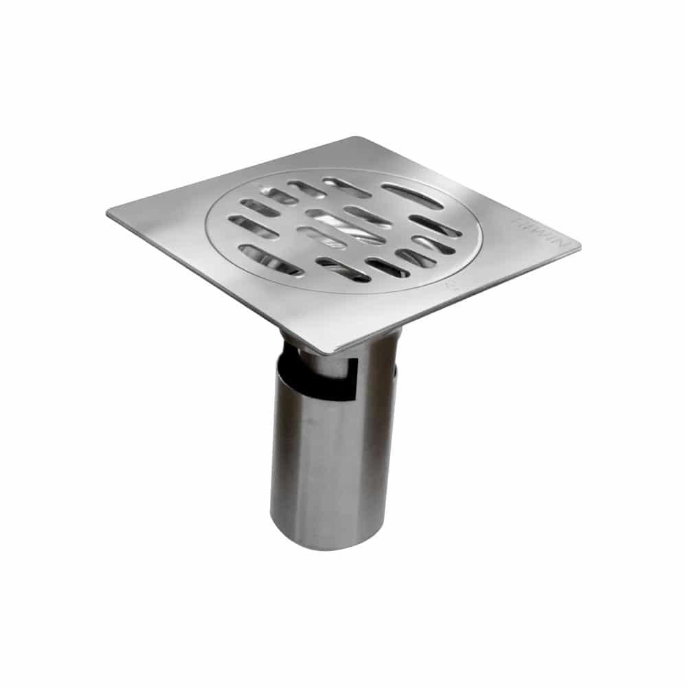 HIWIN FD-4210 Thoát sàn ngăn mùi, phi 76 mm, mặt vuông