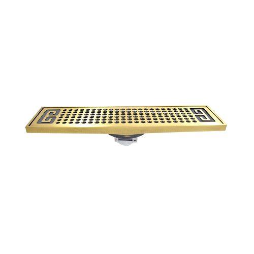 Phễu Thoát Sàn HIWIN FD-4805 màu vàng